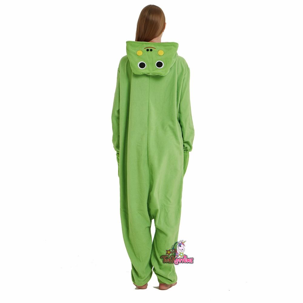 frosch kostüm erwachsene unisex onesie overall