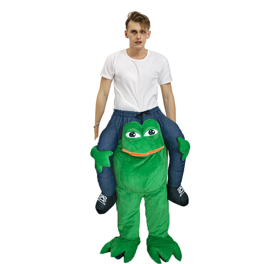 frosch huckepack kostüm carry me kostüm erwachsene