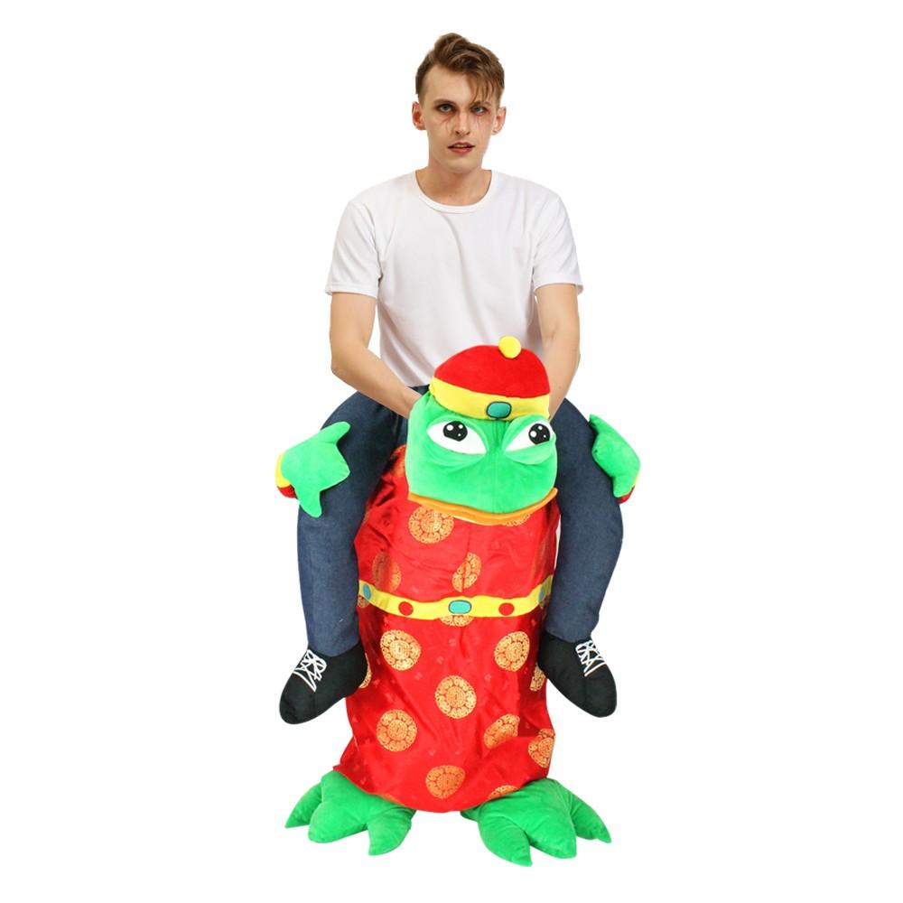 huckepack frosch kostüm erwachsene  topkostueme
