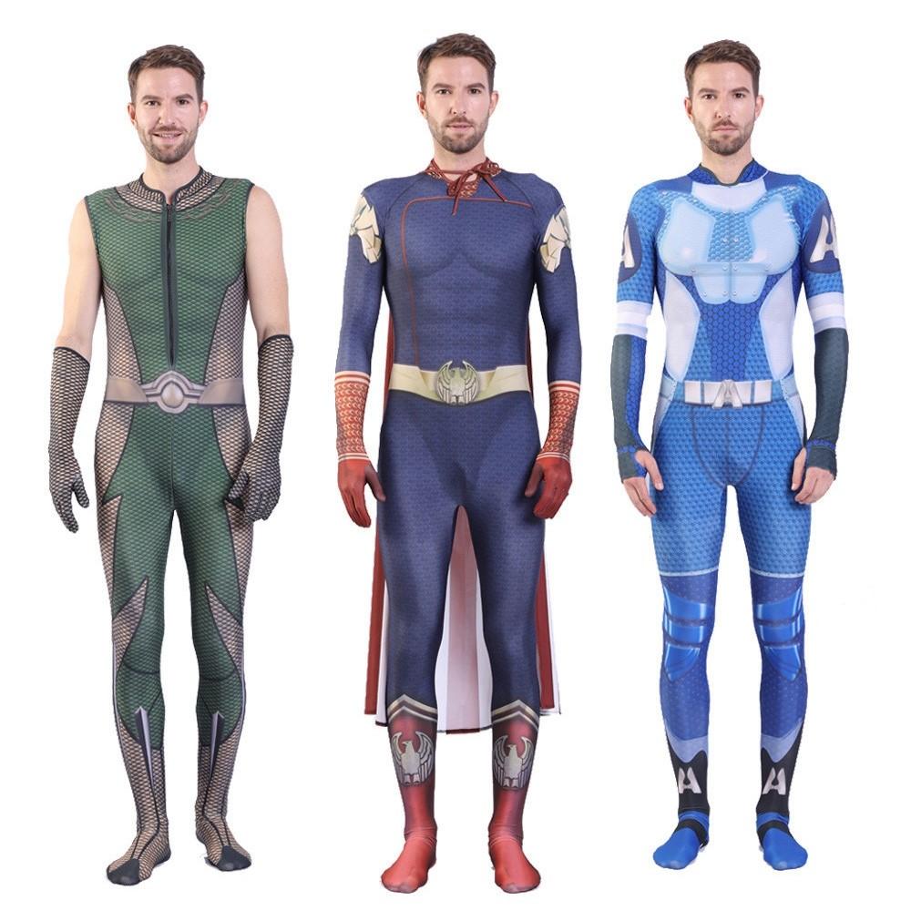 The Boys Superhelden Homelander Cosplay Kostüm für Kinder